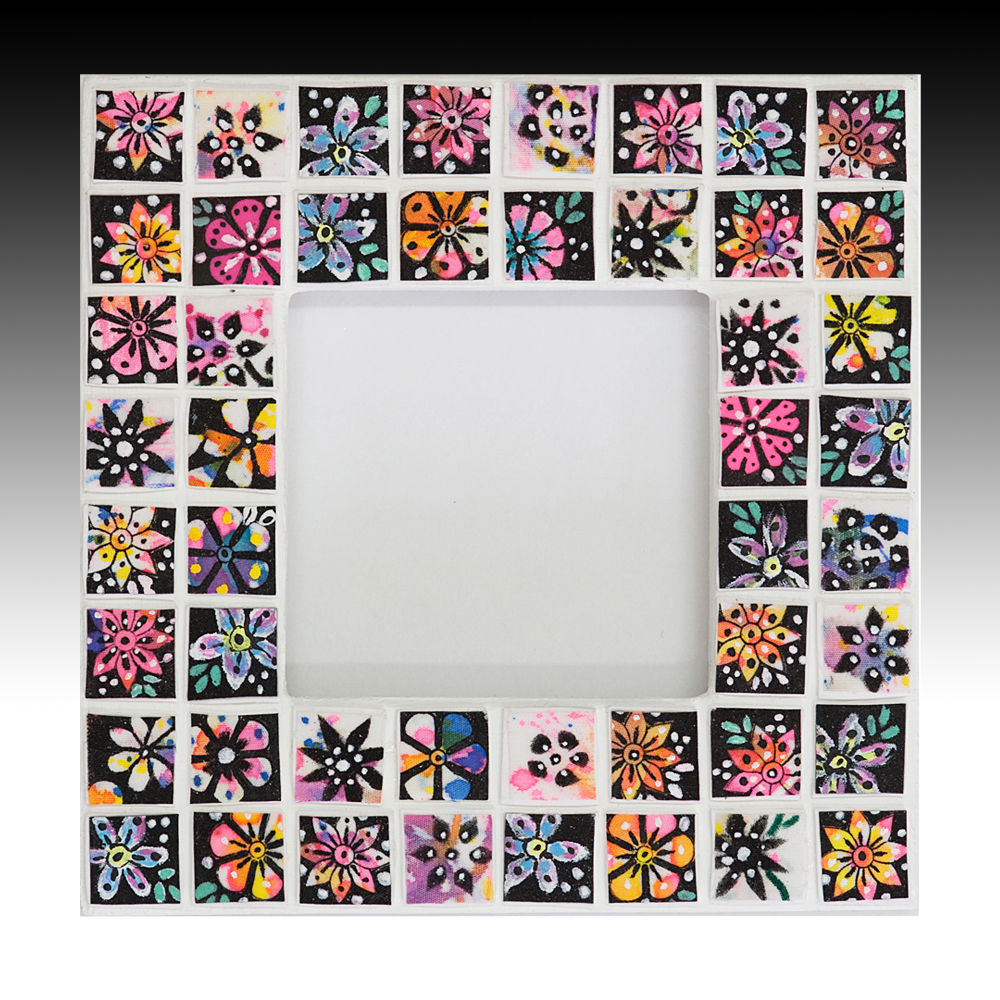 mosaic artwork and frames archives suzi pye english surface pattern designer and maker - Mosaic Picture Frames
