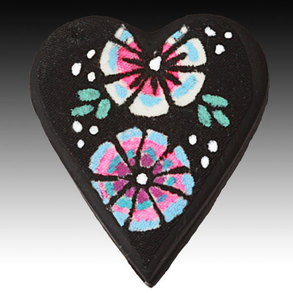 Brooch with Pink Detail Petals