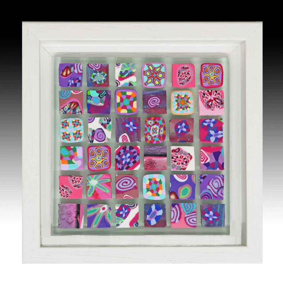 Millefiori Mosaic Artwork