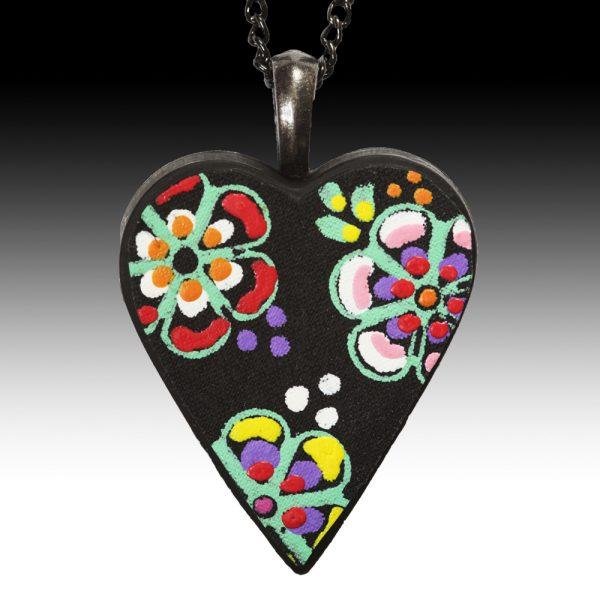 Black Heart Pendant2