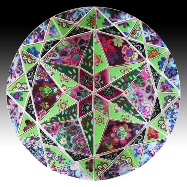 6 Pointed Star Circle Mosaic
