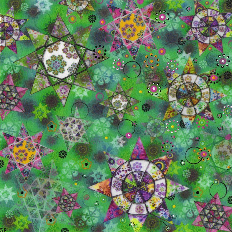Suzi Pye emerald stars