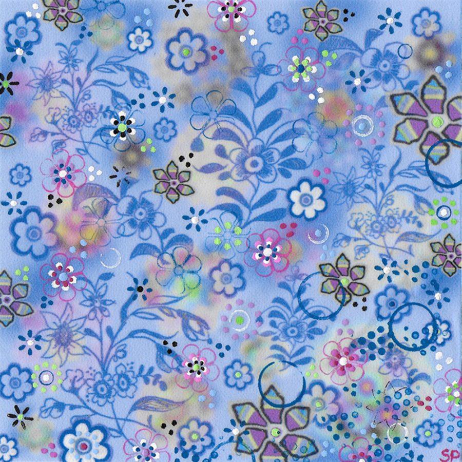 Suzi Pye lowestoft porcelain flowers
