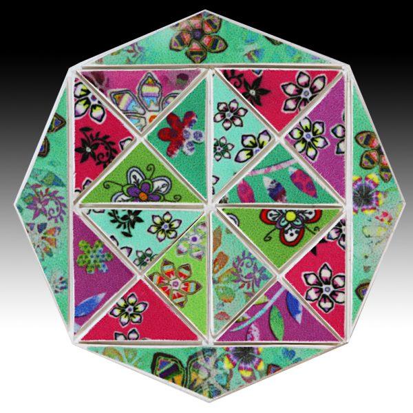 Suzi Pye small-green-pink-octagon-mosaic