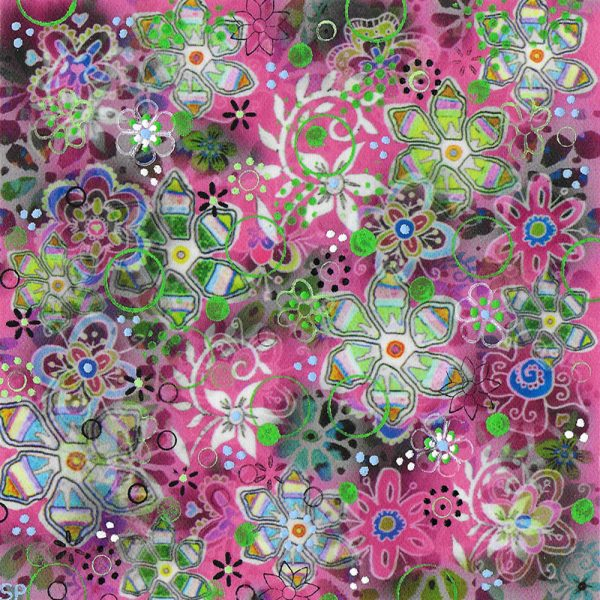 Suzi Pye spiral-flowers-on-fuchsia