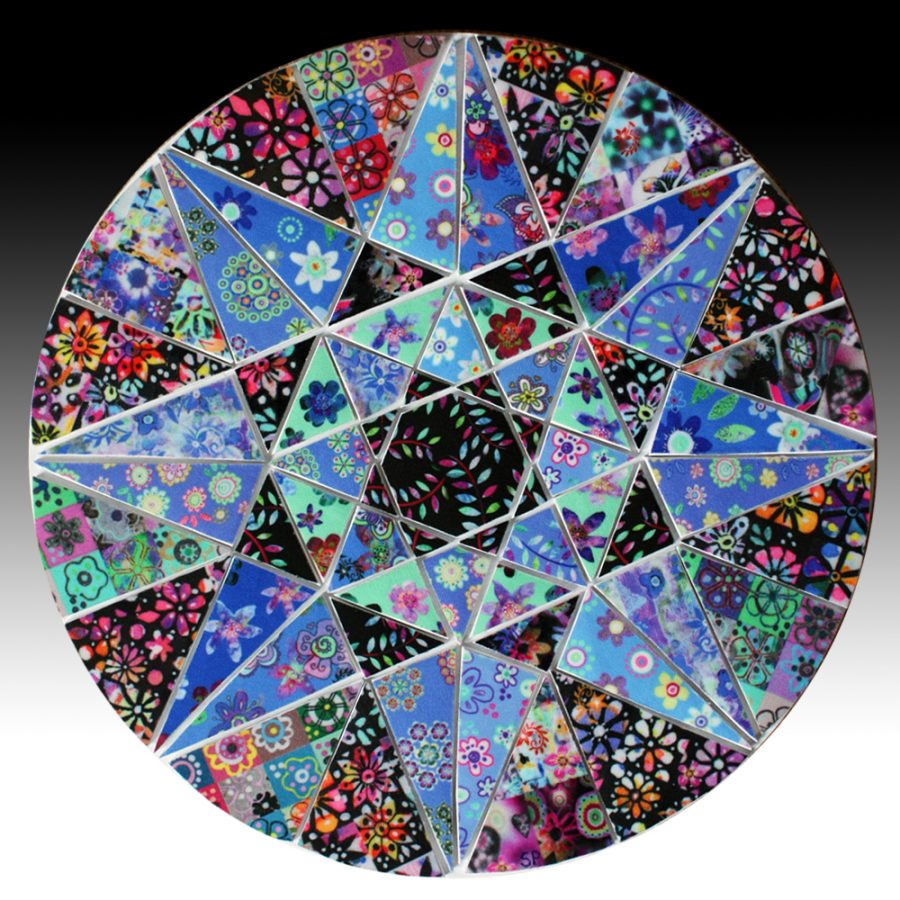 Suzi Pye very-large-blue-star-circle-mosaic