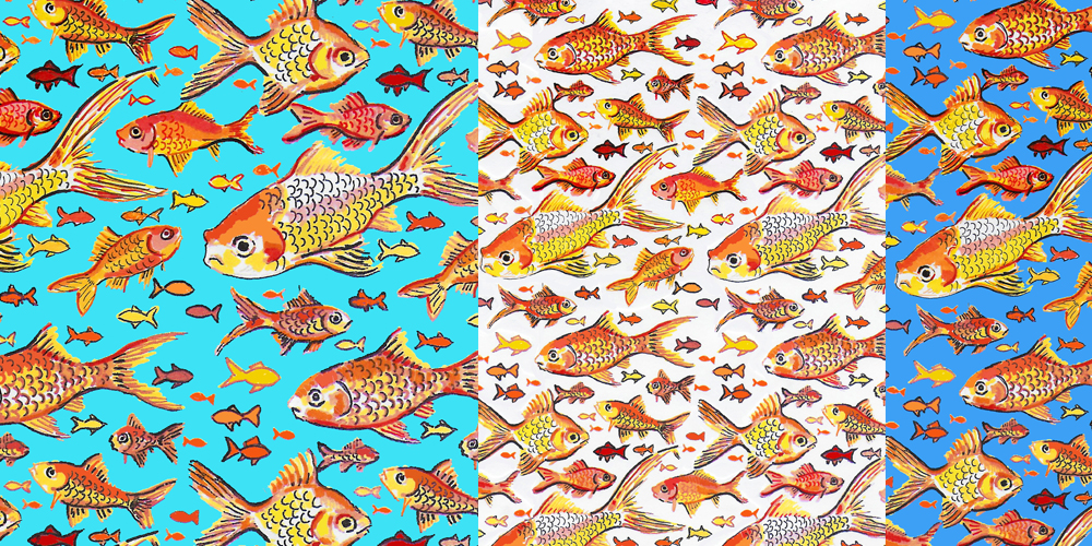 G for Goldfish repeat patterns