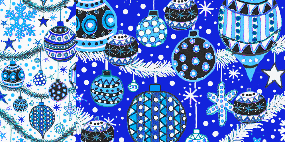 eXciting Xmas repeat pattern